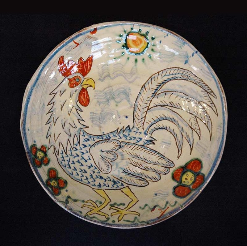 Cockerel Dish
