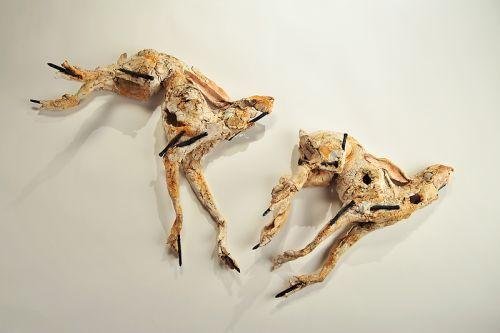 Fleeing Hares