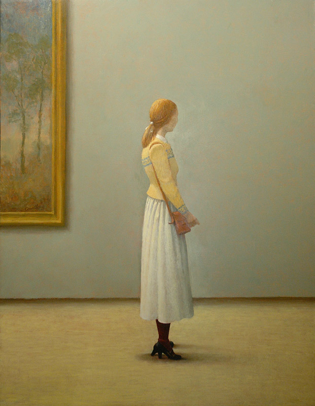 Girl in Gallery
