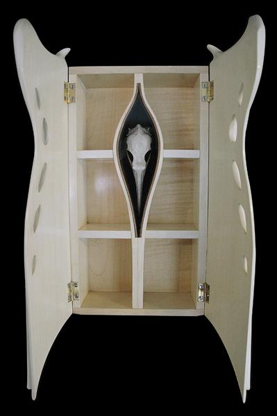 Bird Cabinet [inside detail]