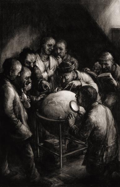 Philosophers & Globe