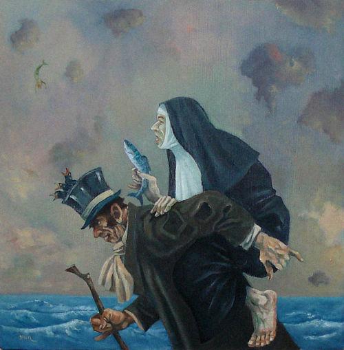 Imagine Gallery Falling Mermaid