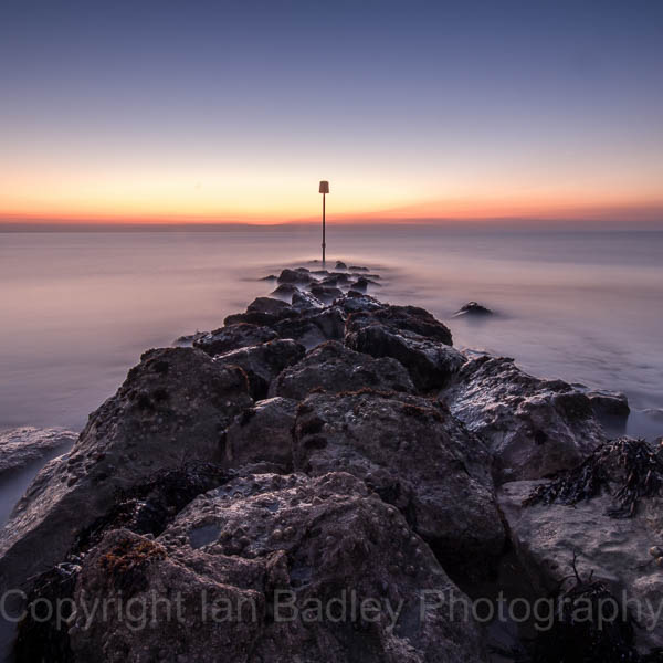 Hengistbury Head at dawn, Dorset, England