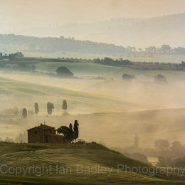Farmhouse 'Mas' in the Val d'Orcia, Tuscany, Italy