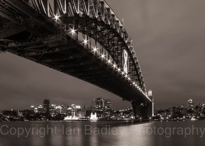 Australia,  Sydney Harbour Bridge at Night
