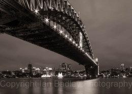 Australia,  Sydney Harbour Bridge at Night