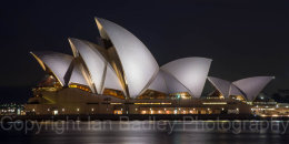 Australia, Sydney Opera House at night