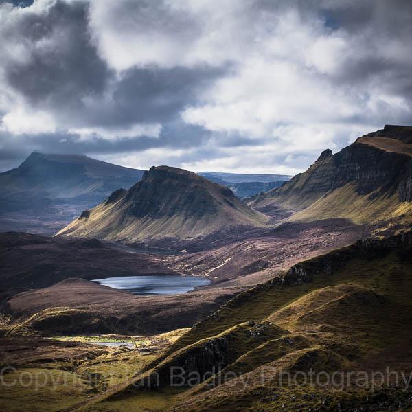 View over the Totternish Ridge,  Isle of Skye, Scotland