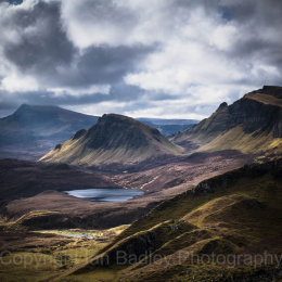 View over the Totternish Ridge,  Isle of Skye, Scotland