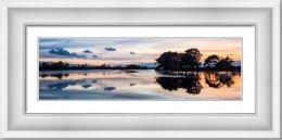 Hatchet Pond Reflections at Sunset