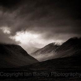 Moody Cuillin Hills, Isle of Skye, Scotland