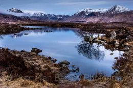Still Lochen, Rannoch Moor, Scotland