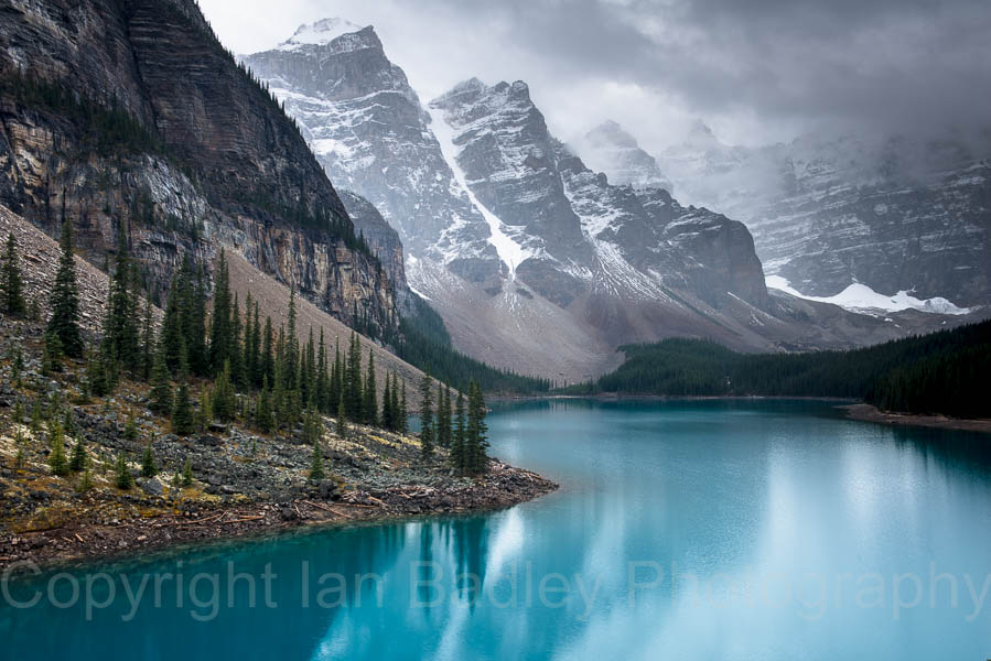 Canada, Banff National Park, Moraine Lake