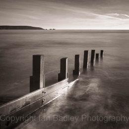 Isle of Wight, Hampshire, UK, Ethereal sea