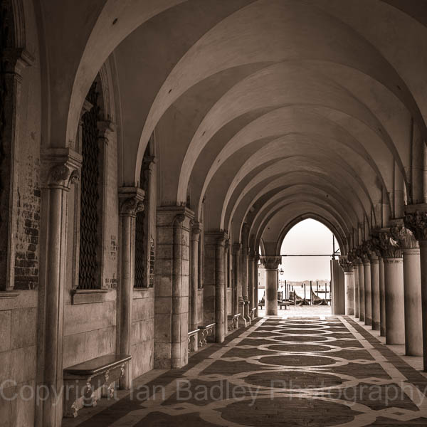 Italy, Venice, The arches