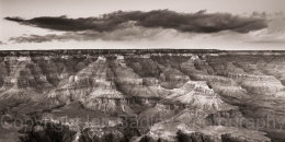 Cloud formation above the Grand Canyon National Park, Arizona, USA-3