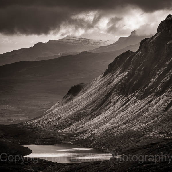 Scree slopes, Totternish,  Isle of Skye, Scotland