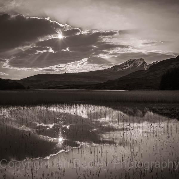 19 - Sunset reflections on Isle of Skye, Scotland