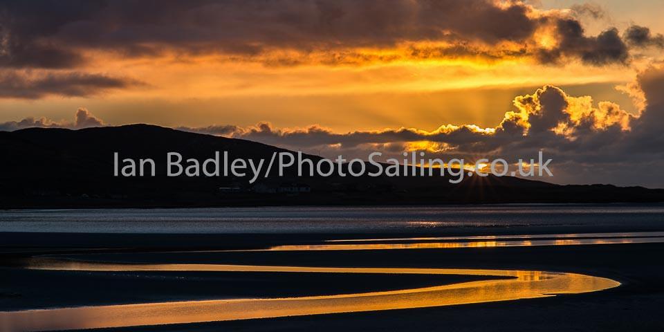 Hebridian sunset