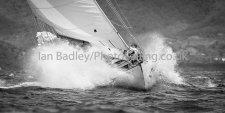 Yacht Lone Fox makes a splash