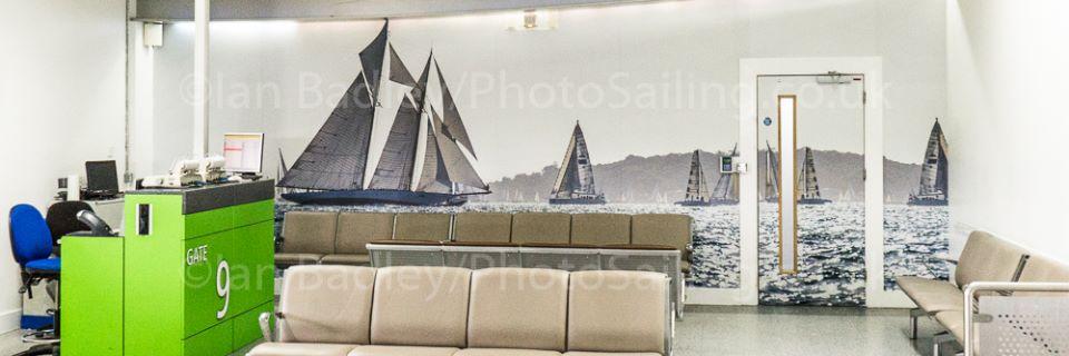 BAA Southampton International Airport Departure Lounge