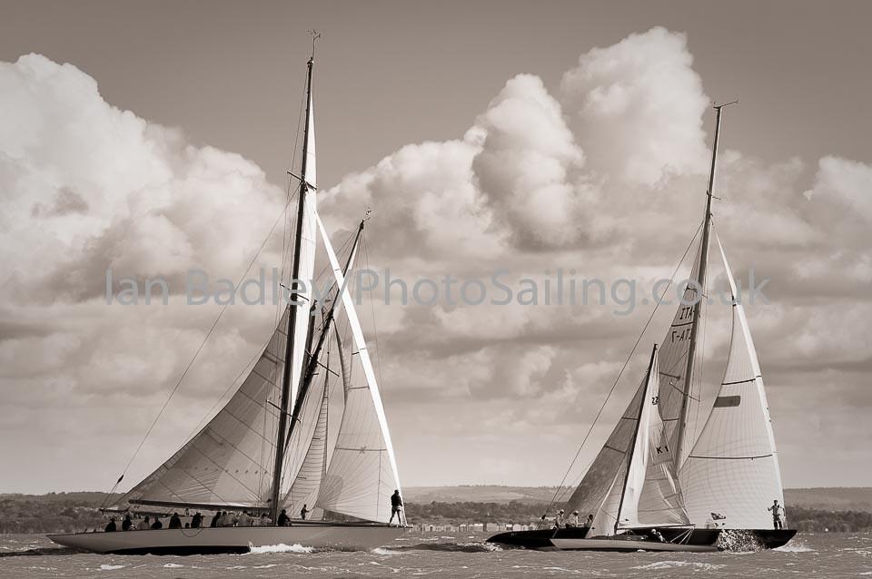 Classic yachts racing