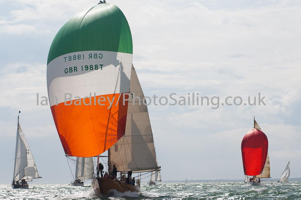 Classic yacht spinnakers