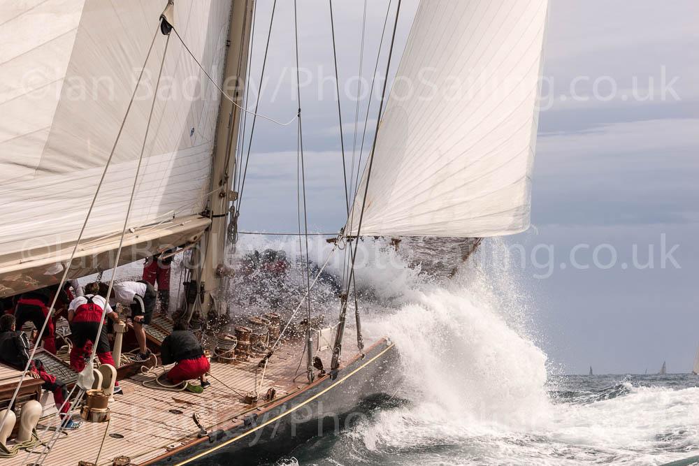 J Class yachts Shamrock V