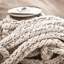 Winch and rope