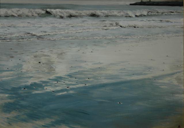 Brittas Bay reflections