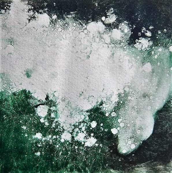 Wave 4 Monotype/drypoint 20 x 20cm