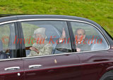 PIC SHOWS;Royals at Crathie Church 11.9.16. The Queen and Prince Phillip at Crathie Church Balmoral