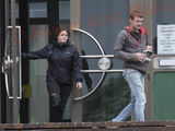 PIC SHOWS:Maidstone Crown Court Today Katherine Cox Age 33yrs and her Partner Danny Shepherd outside Court Today(3/8/17) await the Juries Verdict on  which they have been accused of causing the Death of her Son Eli Cox age 5 months.
