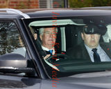 PIC SHOWS:Michael Fallon arrives at Sevenoaks District Council Offices 3.11.17