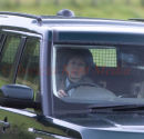 PICS SHOWS;Royals on there way to and From  The grouse Shoot Near Tomintoul  near Balmoral on The A 93.  prince edward and Princess Anne with Commander Tim Laurence walk of the Shoot with there Guests