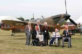 PICS SHOWS ; Biggin Hill 75 Anniversary of the Battle of Britain  Hardest Day . A  group of Battle of Britain Veterans