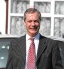 PICS SHOWS Nigel Farage leaves his home   nr Biggin Hill Kent,