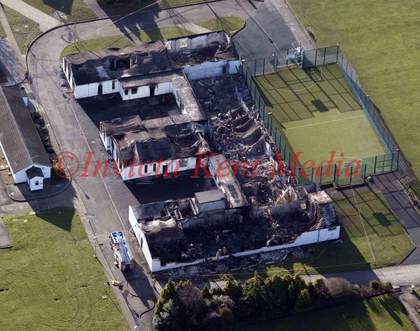 PICS SHOW;FORD OPEN PRISON THE DAY AFTER THE RIOTS .