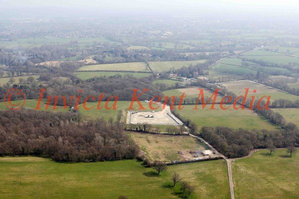PICS SHOWS:- An exploration UKOG firm  has Discovered  Billions of barrels of oil Near Gatwick Airport in Sussex 9.4.15