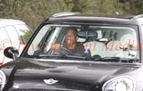 PIC SHOWS: Charly Musonda was spotted Driving a modest Mini Countryman into Chelsea training