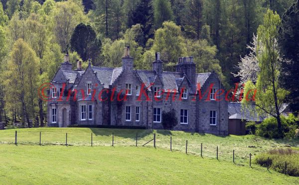 PICS SHOW; CRAIGOWAN LODGE ON THE BALMORAL ESTATE IN SPRING TIME .