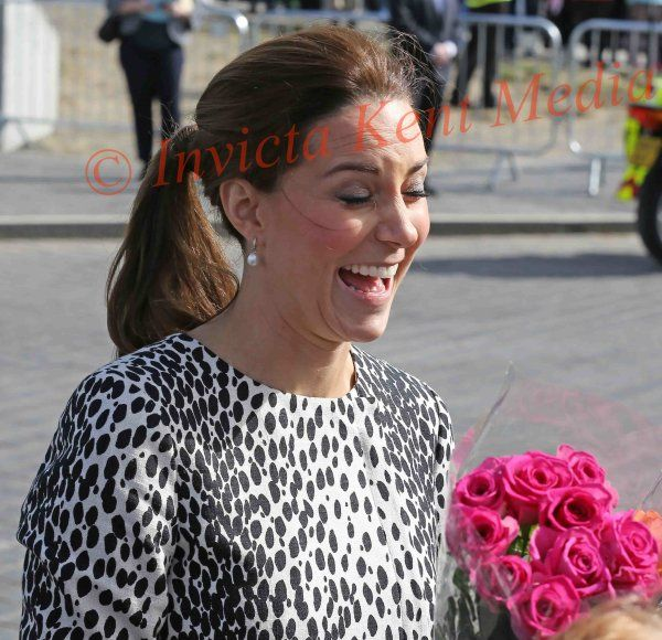PICS SHOWS.The Duchess of Cambridge Visits The Turner Contemperary gallery in Margate Kent Today 11/3/15