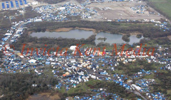 PICS SHOWS;Views of the Jungle the Immigrant site In Calais taken 7/12/15