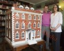 PICS SHOWS The Dolls house built by Dad Jeffrey for his daughter Sarah Walkley that took 35yrs to build