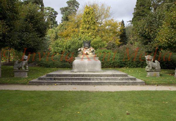 PIC SHOWS:- Buddha on the Western terrace of Sandringham. Sandrinham Estate, Norfolk,