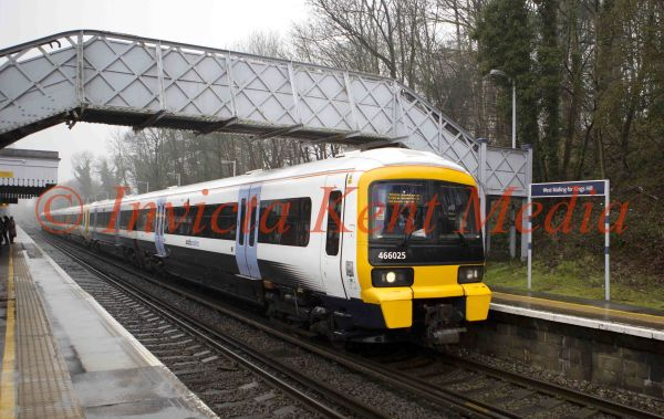 PICS SHOWS;West Malling Railway Station where Baby Phoebe Banks was born on a train