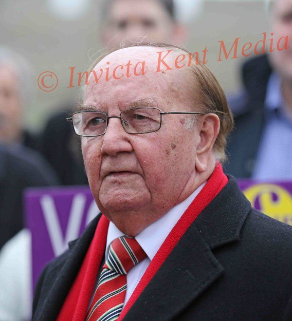 PICS SHOWS Tom Mason Ex Conservative councillor from Medway Defects to UKIP today 19/3/15