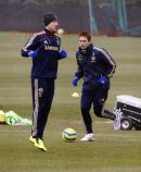 PIC SHOWS:- Chelsea FC training 26.2.13
