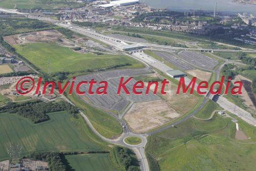 PICS OF THE NEW EBBSFLEET TERMINAL NEAR DARTFORD IN KENT;