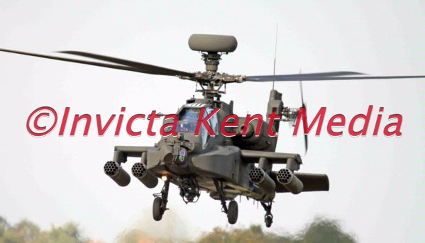 Army Air Corps AH64 Apache Longbow seen at RAF Middle Wallop